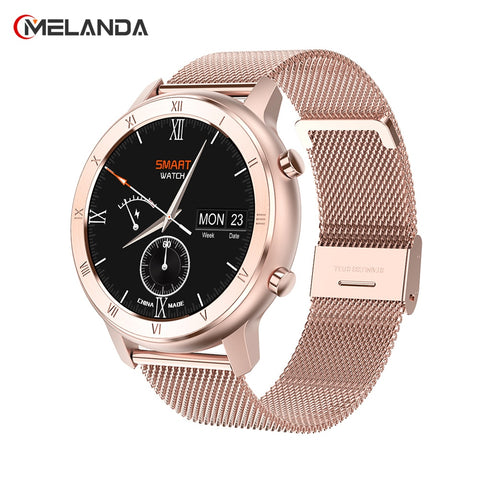 Women's Touch Screen Waterproof Smartwatch.