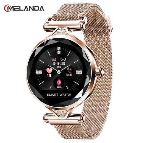 Women Fashion Smartwatch Compatible With Android & IOS
