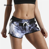 Quick Dry Women Sports Shorts with Pocket