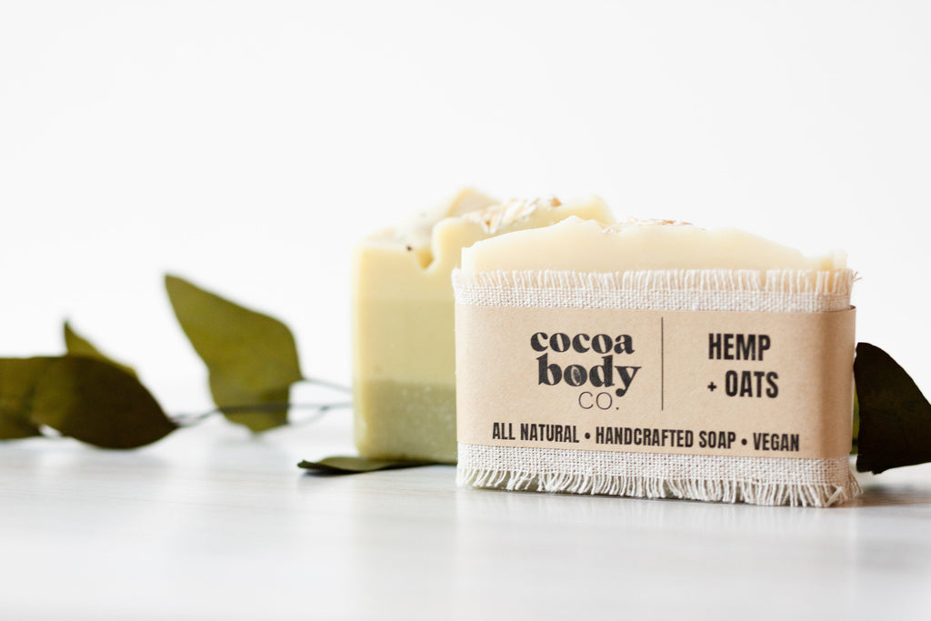 Hemp and Oatmeal Soap