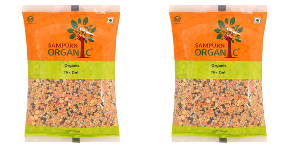 Sampurn Organic Mix Dal 500 g