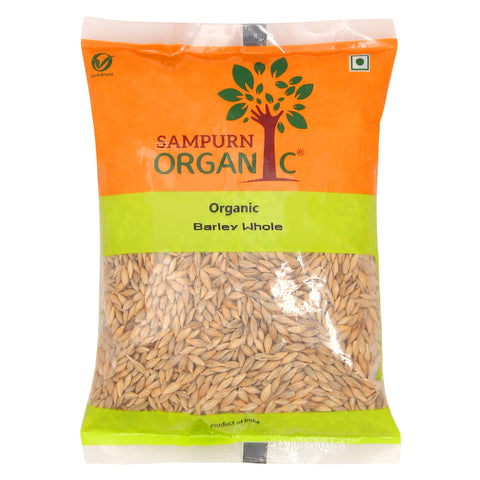 Sampurn Organic Barley Whole 500 g