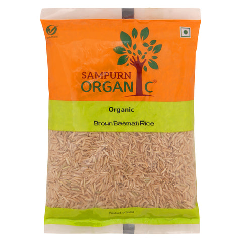 Organic Brown Basmati Rice 500 g