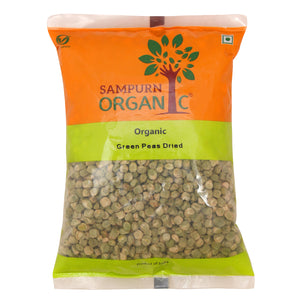 Organic Green Peas Dried 500 g