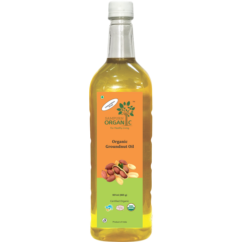 Organic Groundnut Oil 951 ml