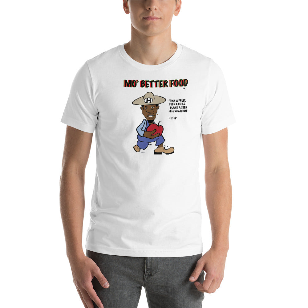 Hotep- Mo' Better Food - Short-Sleeve Unisex T-Shirt