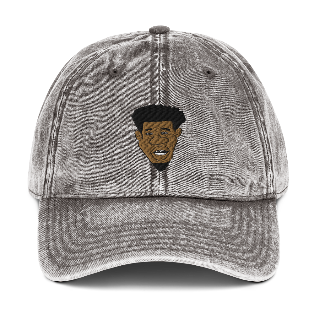 Hotep on Vintage Cotton Twill Cap