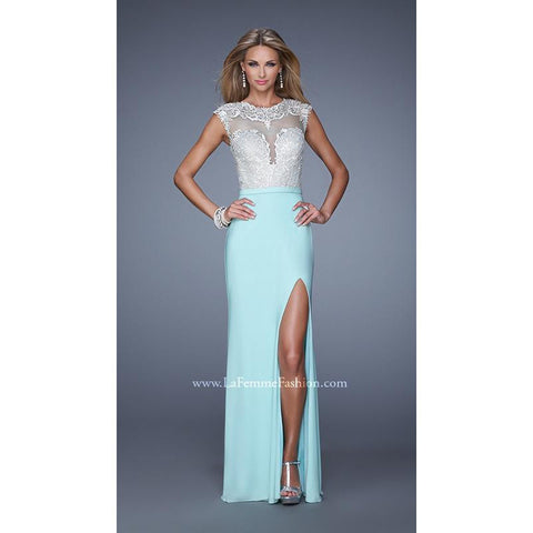 La Femme 21065 Light Mint 6 - Move Over Princess
