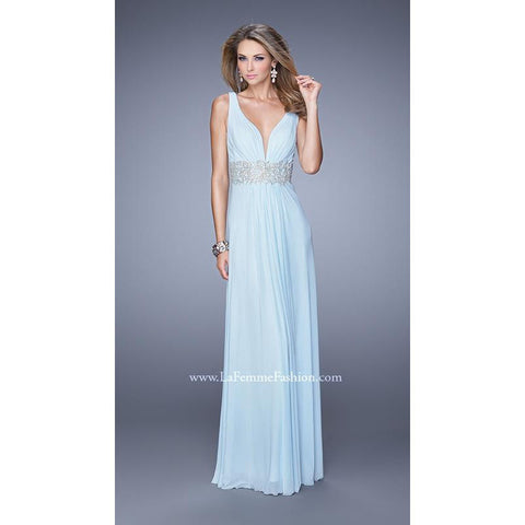 La Femme 21475 Powder Blue 14 - Move Over Princess