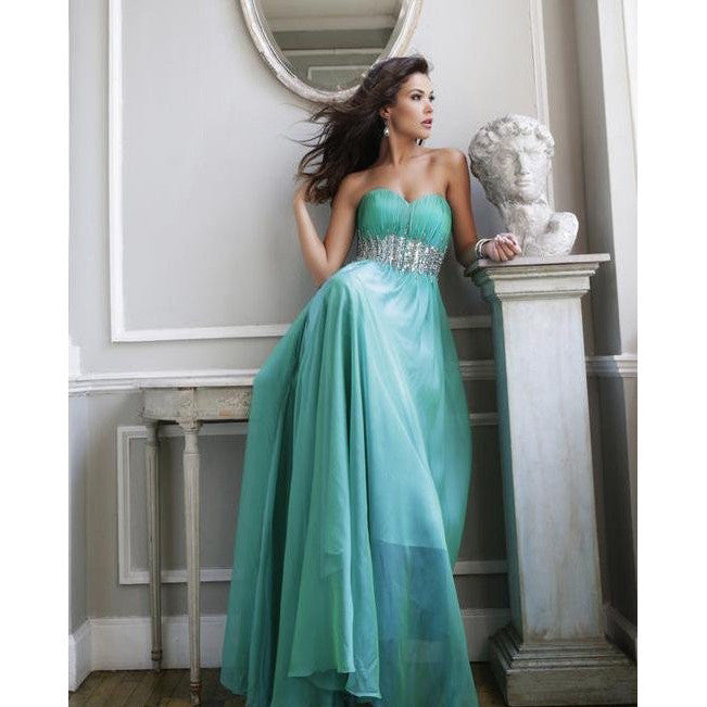 Sherri Hill 3909 Green 4 - Move Over Princess