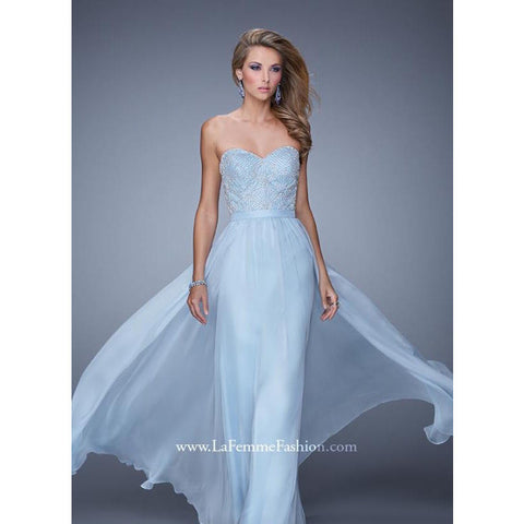 La Femme 20447 Powder Blue 14 - Move Over Princess