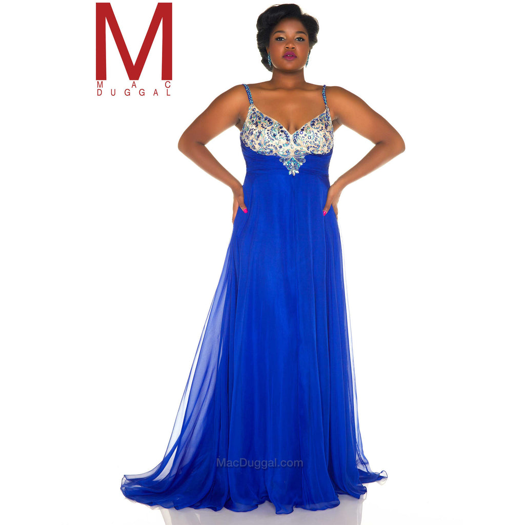 Mac Duggal 65053 - Move Over Princess