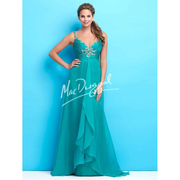 Mac Duggal 65119 Teal 4 - Move Over Princess
