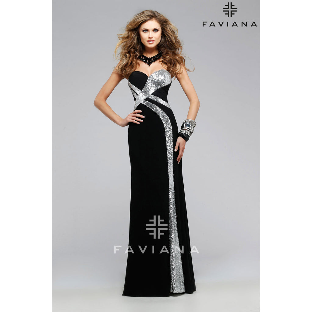 Faviana 7739 - Move Over Princess