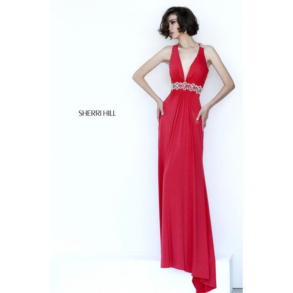 Sherri Hill 8550 Red 4 - Move Over Princess