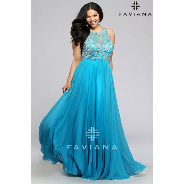 Faviana 9374 - Move Over Princess