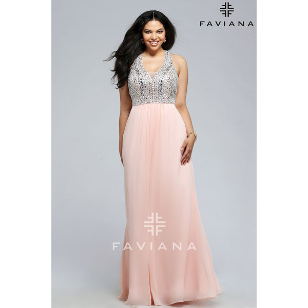 Faviana 9388 - Move Over Princess