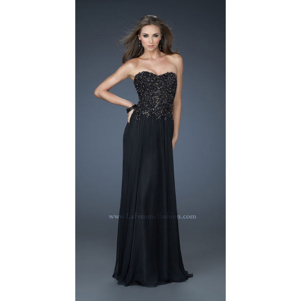 La Femme 18199 Black 2 - Move Over Princess