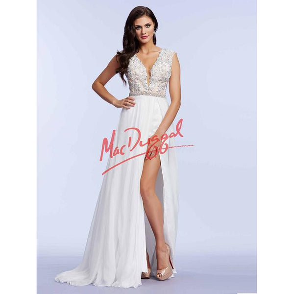 Mac Duggal 65173 Ivory 4 - Move Over Princess