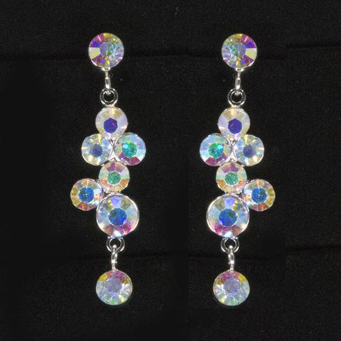 Small Cluster Dangle Earrings - Move Over Princess
