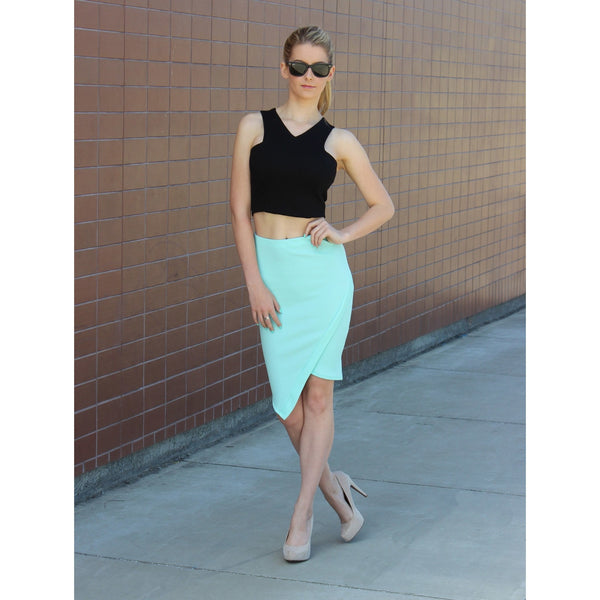 Faux Wrap Skirt - Move Over Princess