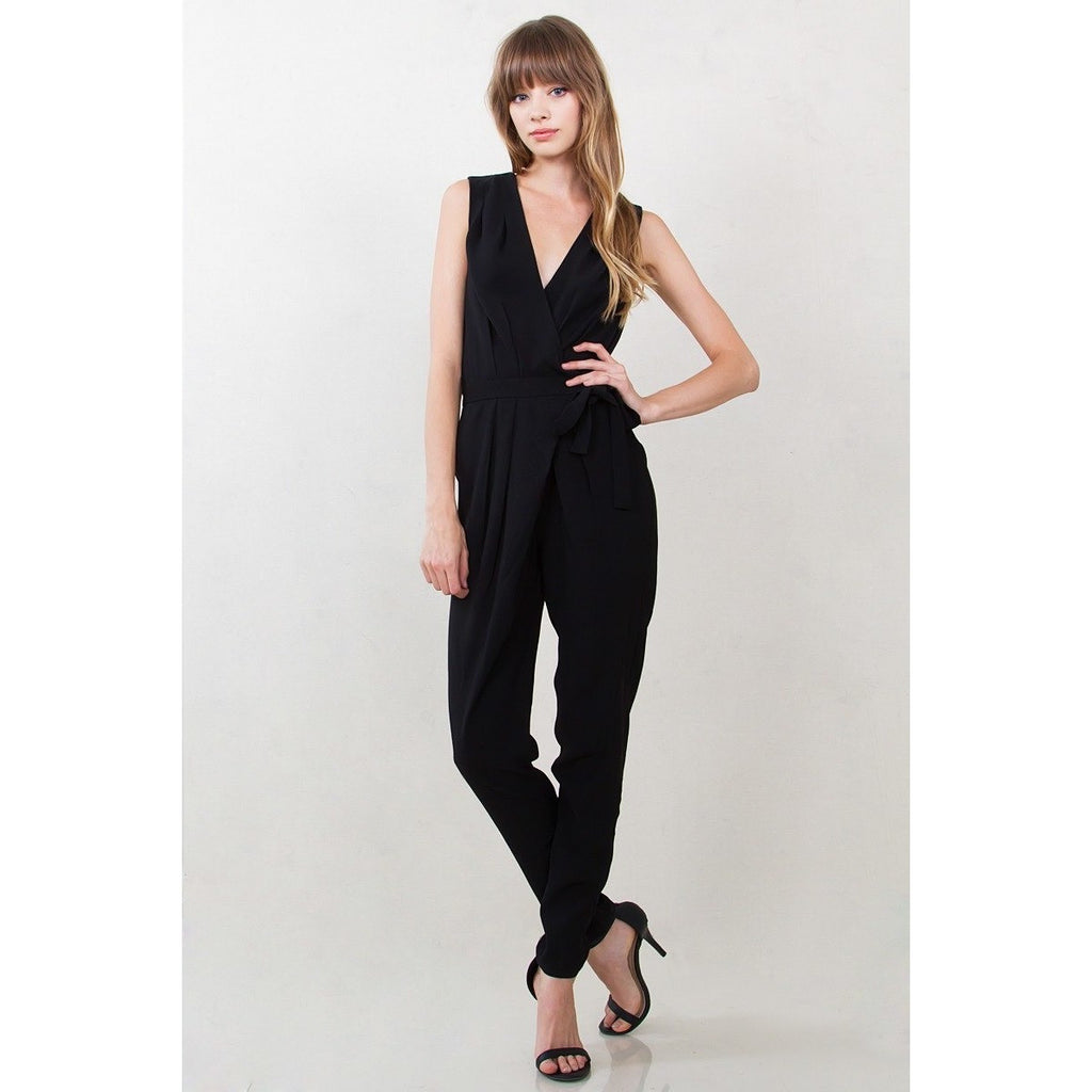 Lisa Wrap Jumpsuit - Move Over Princess