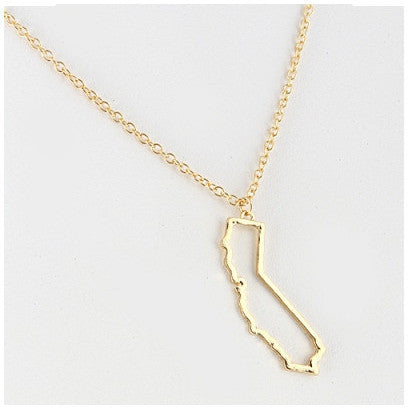 California Necklace - Move Over Princess