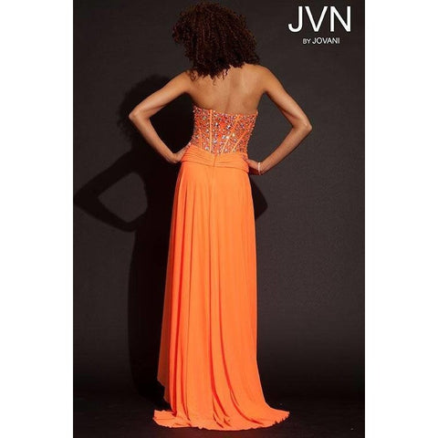Jovani JVN 93473 Orange 12 - Move Over Princess