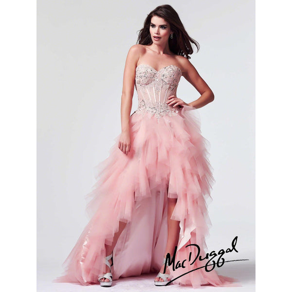 Mac Duggal 10001 Blush 8 - Move Over Princess