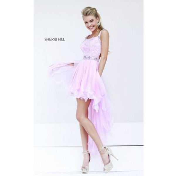 Sherri Hill 9712 Pink 10 - Move Over Princess