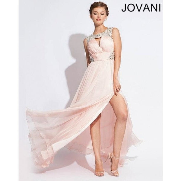 Jovani 1457 Gunmetal 6 - Move Over Princess