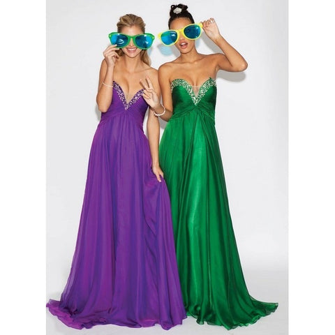 Jovani 88034 Purple 10 - Move Over Princess