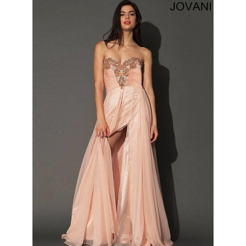 Jovani 91089 Blush 22 - Move Over Princess