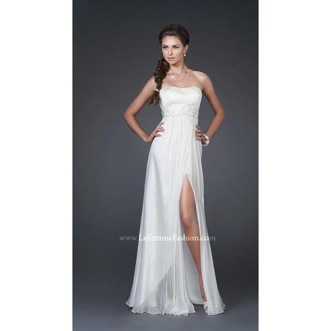 La Femme 15282 Ivory 2 - Move Over Princess