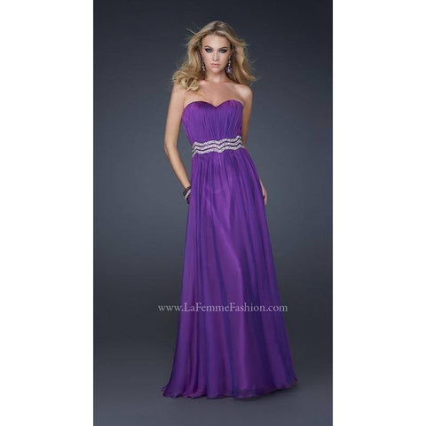 La Femme 17439 Purple 12 - Move Over Princess