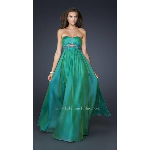 La Femme 17546 Jungle Green 6 - Move Over Princess