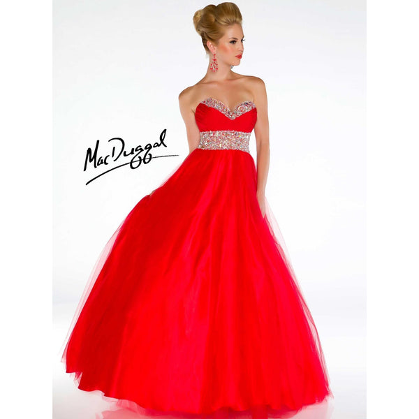 Mac Duggal 4962 Red 4 - Move Over Princess