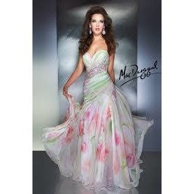 Mac Duggal 64292 Watercolor 4 - Move Over Princess