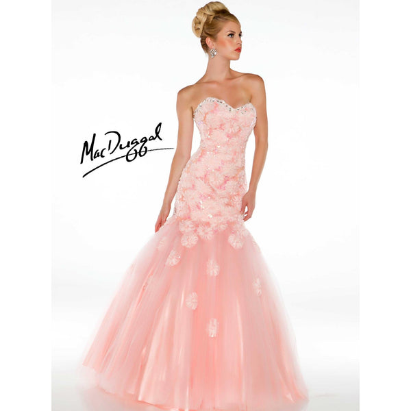 Mac Duggal 64315 Blush 6 - Move Over Princess