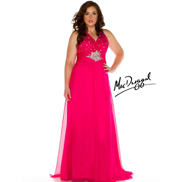Mac Duggal 64391 Lipstick 24 - Move Over Princess