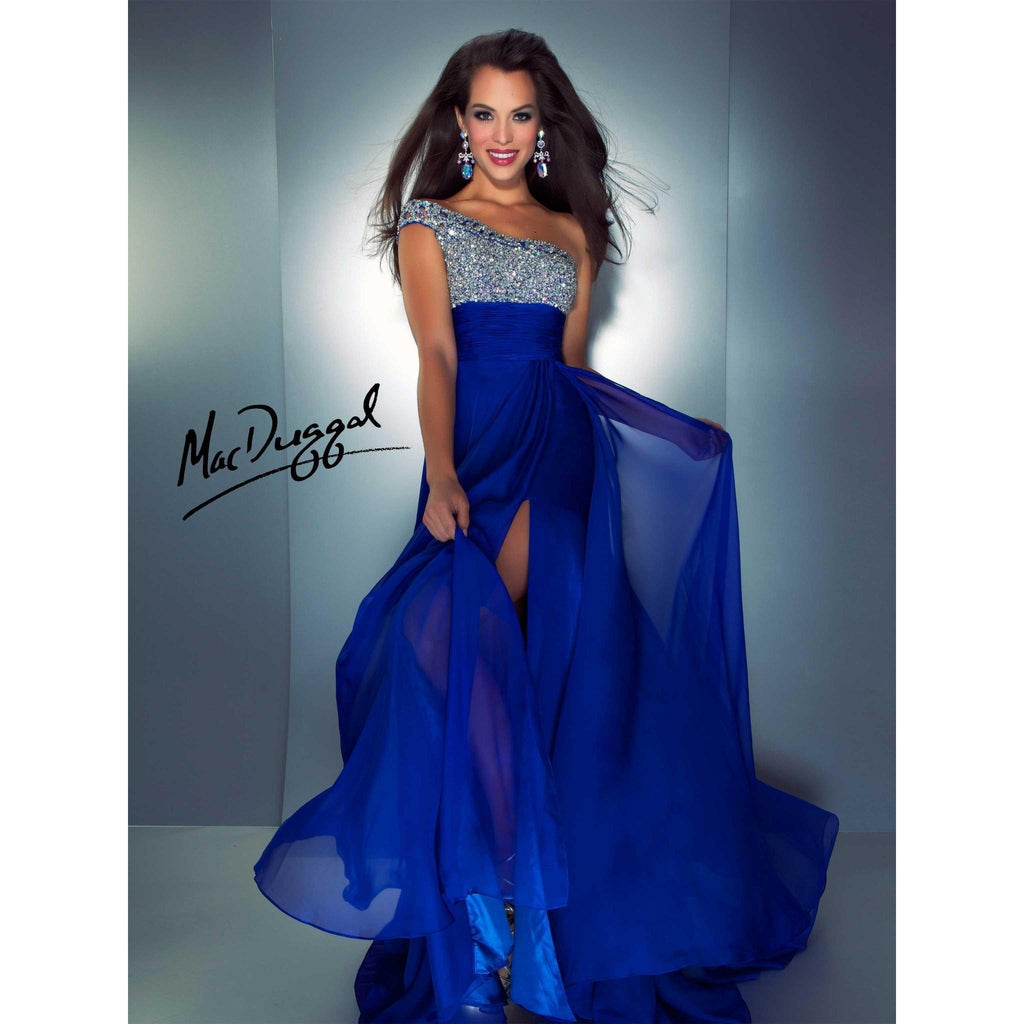 Mac Duggal 64407 Royal 10 - Move Over Princess