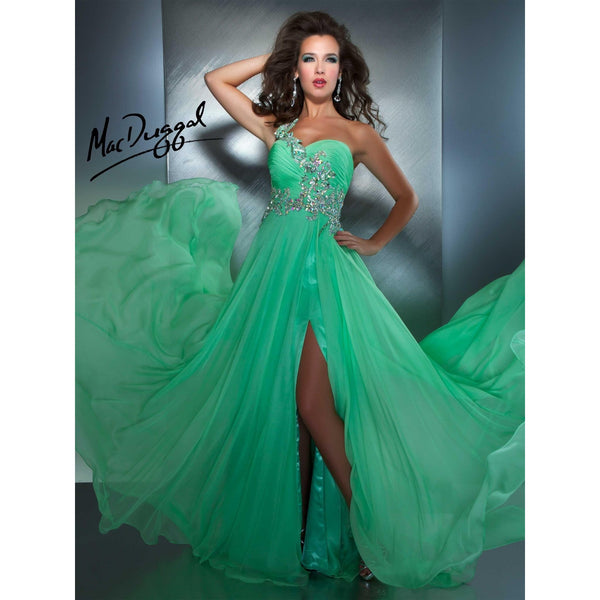 Mac Duggal 64412 Green 10 - Move Over Princess