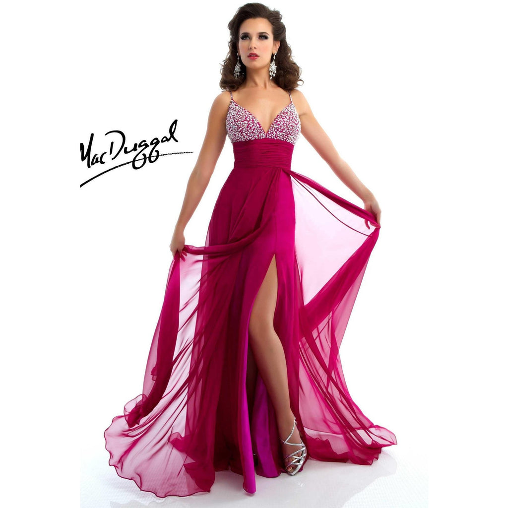 Mac Duggal 64430 Magenta 12 - Move Over Princess
