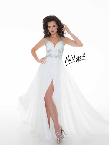 Mac Duggal 64513 White 16 - Move Over Princess