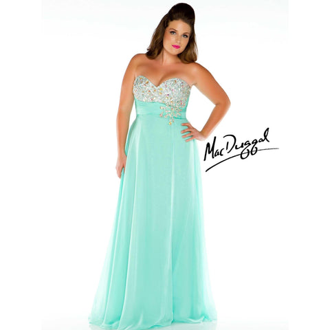 Mac Duggal 7268 Mint 14 - Move Over Princess