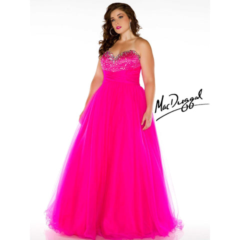 Mac Duggal 7642 Royal 20 - Move Over Princess