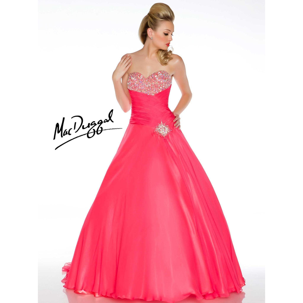 Mac Duggal 81491 Coral 8 - Move Over Princess