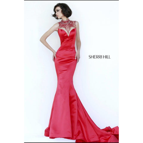 Sherri Hill 32124 Fuchsia 00 - Move Over Princess