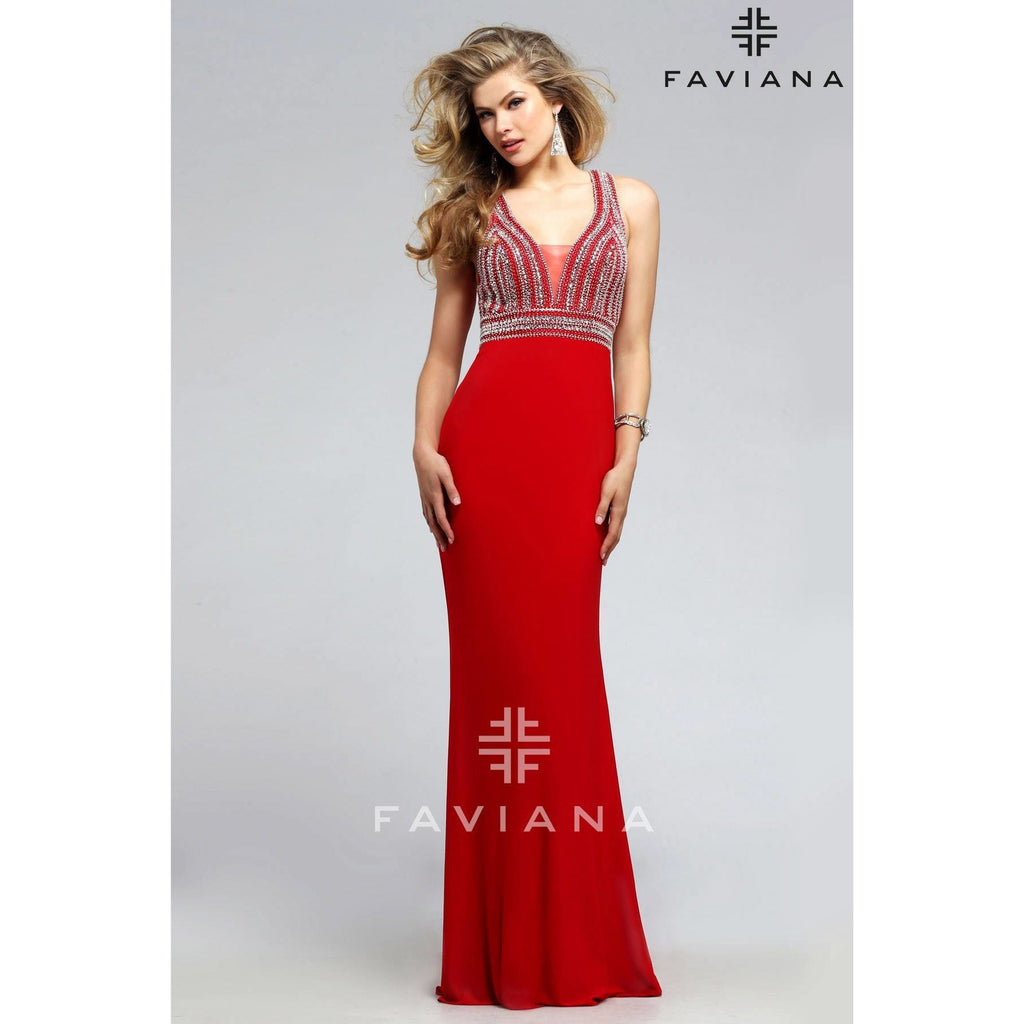 Faviana S7805 - Move Over Princess