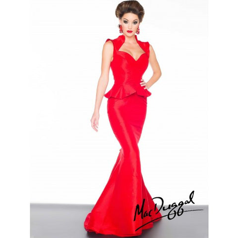Mac Duggal 61726 Red 4 - Move Over Princess
